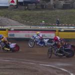 Niels Kristian Iversen (N), Nicki Pedersen (Ż), Tobias Busch (C), Mathias Schultz (B)